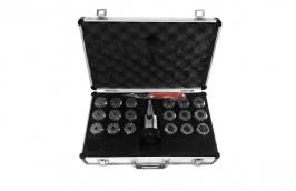 Jogo de Pinça ISO30 M12 x 1,75 com 20 Peças 3 a 25 mm 38,0003 ER-40 - ROCAST
