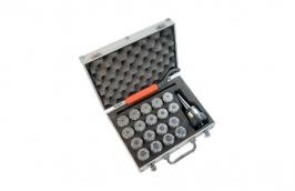 Jogo de Pinças de 3 a 25mm CM3 M12 x 1,75 ER40 38,0001 - Rocast