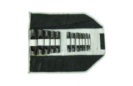 Jogo de Vazador de 4 a 32 mm com 12 peças