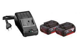 Kit 2 Baterias 3AH + Carregador 110V - Bosch