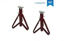 Kit 2 Cavaletes para Veiculo Leve até 2 Toneladas 107700 - RAVEN