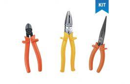Kit Alicate Universal Eletricista, Bico E Corte - Gedore