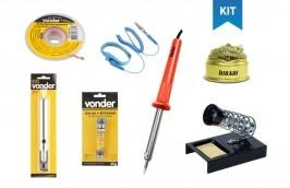 Kit de Solda Eletrônica Completo