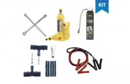 kit emergência para carros com 5 itens