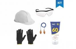 Kit EPI Proteção para obras 5 peças - Cofermeta