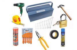 Kit ferramenta serviços gerais