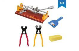 Kit ferramentas para artesanato com mosaico