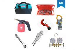 Kit ferramentas para Refrigeração e ar Condicionado