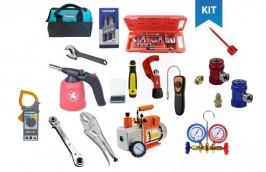 Kit ferramentas para Refrigeração e ar Condicionado COMPLETO