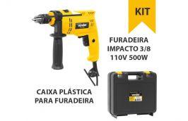 Kit Furadeira FIV 595+ Caixa Plastica VD6002