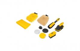 Kit Para Limpeza Automotiva com 10 Peças - VONDER