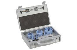 Kit Serra Copo com 9 peças para Alumínio / Lata / Inox