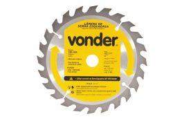Lâmina de serra circular de videa 185 X 16 X 24 dentes - VONDER