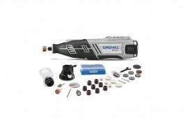 Micro-retífica à Bateria de 12V com 30 Acessórios Bivolt 8220 - Dremel