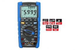 Multímetro Digital HD2510 1000V 20A TRMS AC/DC - MINIPA