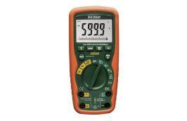 Multímetro Digital Industrial 1000V AC/DC com Temperatura EX-520 Extech
