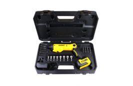 Parafusadeira Articulada à Bateria com Kit Dewalt DCF060-B2 Bivolt com 45 acessórios