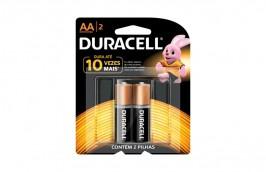 Pilha Alcalina Pequena AA Com 2 peças MN1500 - Duracell