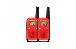 Radio Comunicador Talkabout 25Km Vermelho T110BR - MOTOROLA