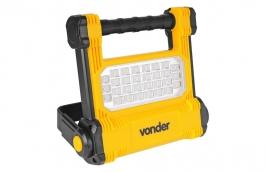 Refletor Recarregável Portátil Bivolt LED SMD 10W RRV010- VONDER