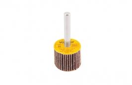 Roda Lixa com Haste 1/4'' 25 mm x 20  mm Grão 80 - VONDER