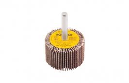 Roda Lixa com Haste 1/4'' 40 mm x 25 mm Grão 120 - VONDER