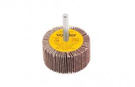Roda Lixa com Haste 1/4'' 50 mm x 25 mm Grão 120 - VONDER