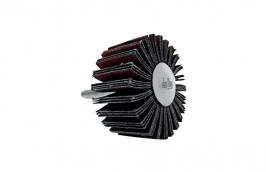 Roda Lixa de 75 x 25 mm com Haste de 1/4'' Grão 80 - DISFLEX
