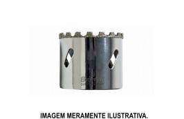 Serra Copo Diamantada 10 mm para Vidro e Cerâmica KD0010-S - STARRETT