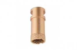 Serra Copo Diamantada 25 mm para Esmerilhadeira com Rosca M14 - CORTAG