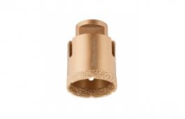 Serra Copo Diamantada 44 mm para Esmerilhadeira com Rosca M14 - CORTAG