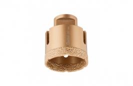 Serra Copo Diamantada 51 mm para Esmerilhadeira com Rosca M14 - CORTAG