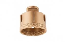 Serra Copo Diamantada 64 mm para Esmerilhadeira com Rosca M14 - CORTAG