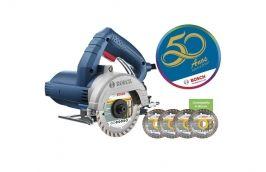 Serra Mármore TITAN GDC150 Corte Seco 1500w com 4 Discos 110V - Bosch