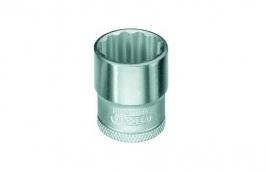 Soquete Estriado 3/8'' x  6 mm D30 - GEDORE