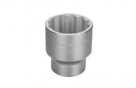 Soquete Estriado em Aço Cromo Vanádio 55 mm - Encaixe 3/4
