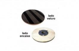 Suporte para Disco de Enceradeira com Velcro e Flange CL350 - CLEANER