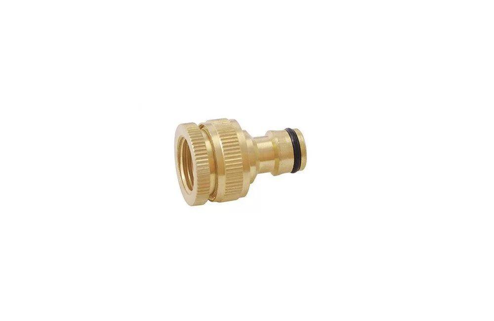 """Adaptador de Bronze para Torneiras de 1/2 e 3/4"""" DY-8024C - Trapp"""