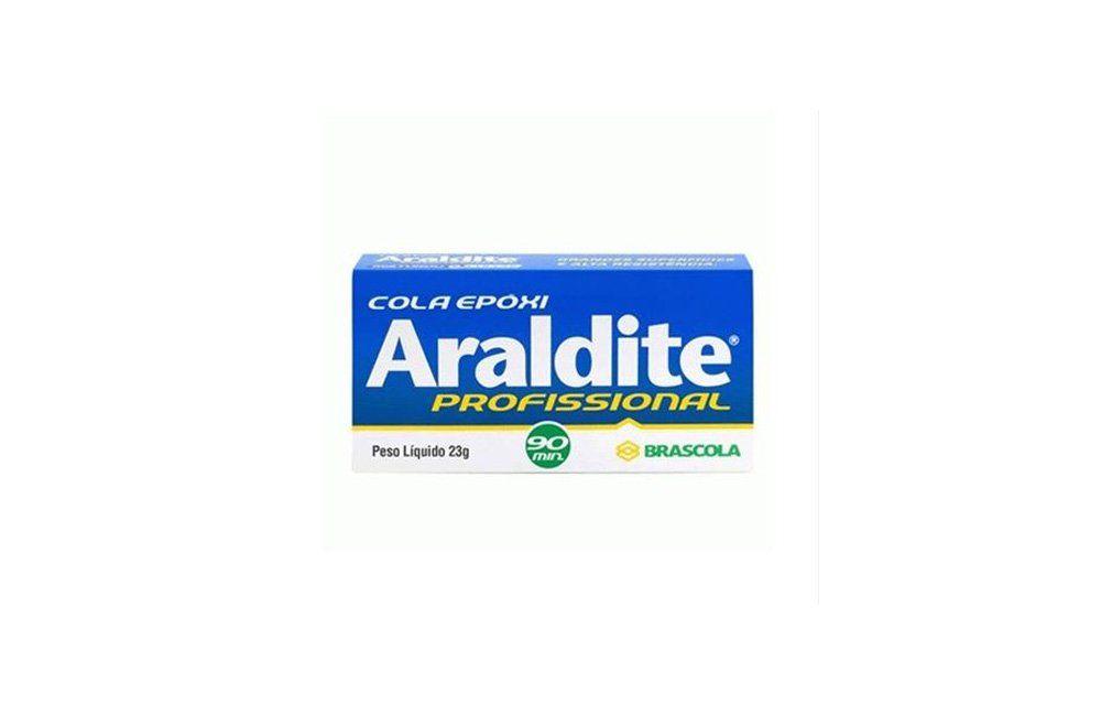 Adesivo Epóxi Araldite Profissional 90min 23 Gramas - Brascola