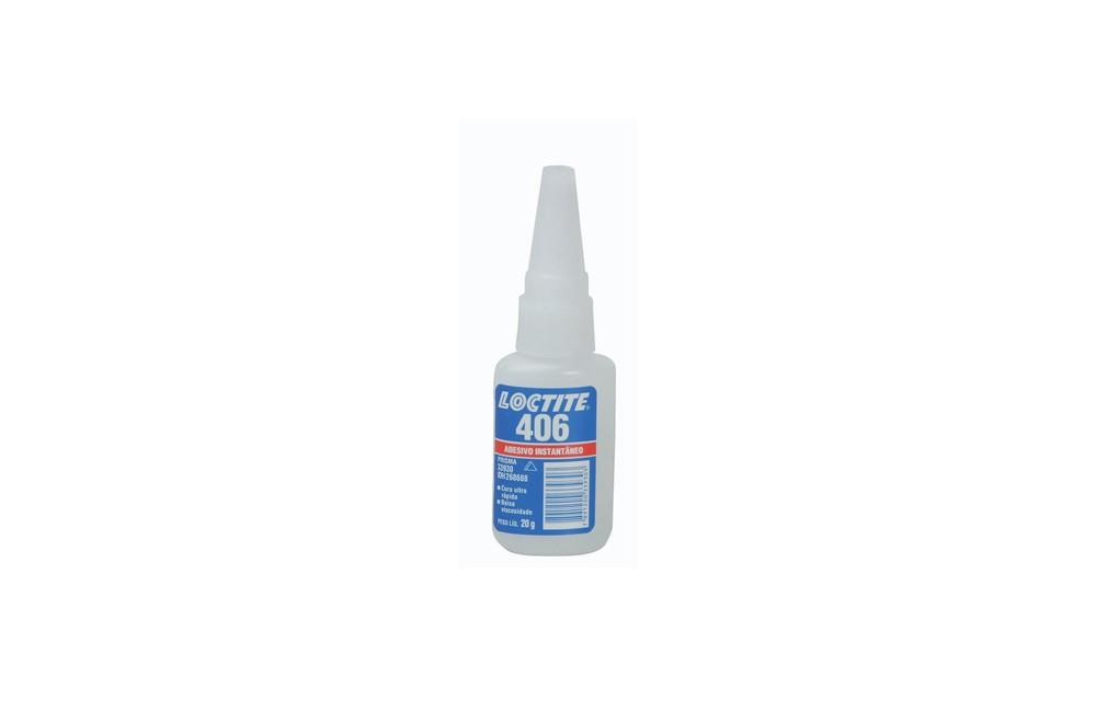 Adesivo Instantâneo Super Bonder 406 20G - LOCTITE
