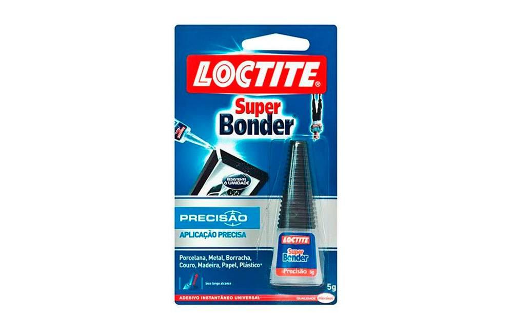 Adesivo Instantâneo Super Bonder 5g - loctite