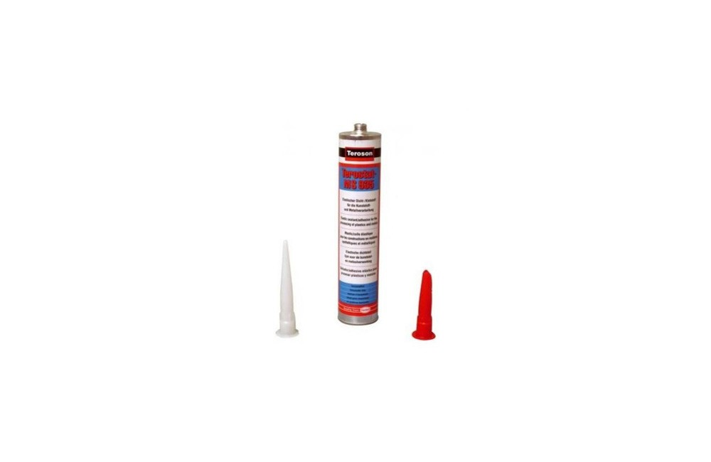 Adesivo Silicone Terostat Preto MS9360 Teroson 290 gramas - Loctite