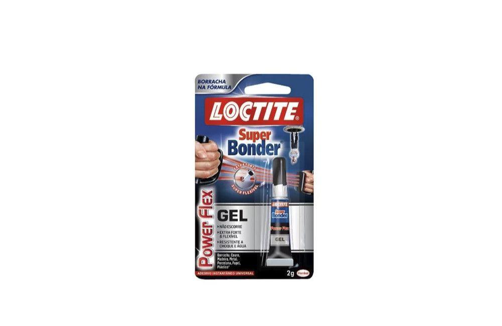 Adesivo Super Bonder Flex Gel 2 gramas - Loctite