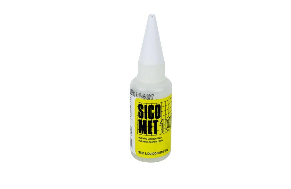 Adesivo Super Bonder Sicomet 100 20 gramas Loctite