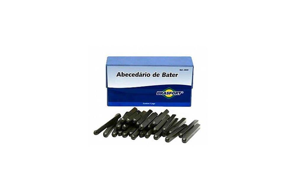 Alfabeto de Aço para Bater de 8 mm - Brasfort