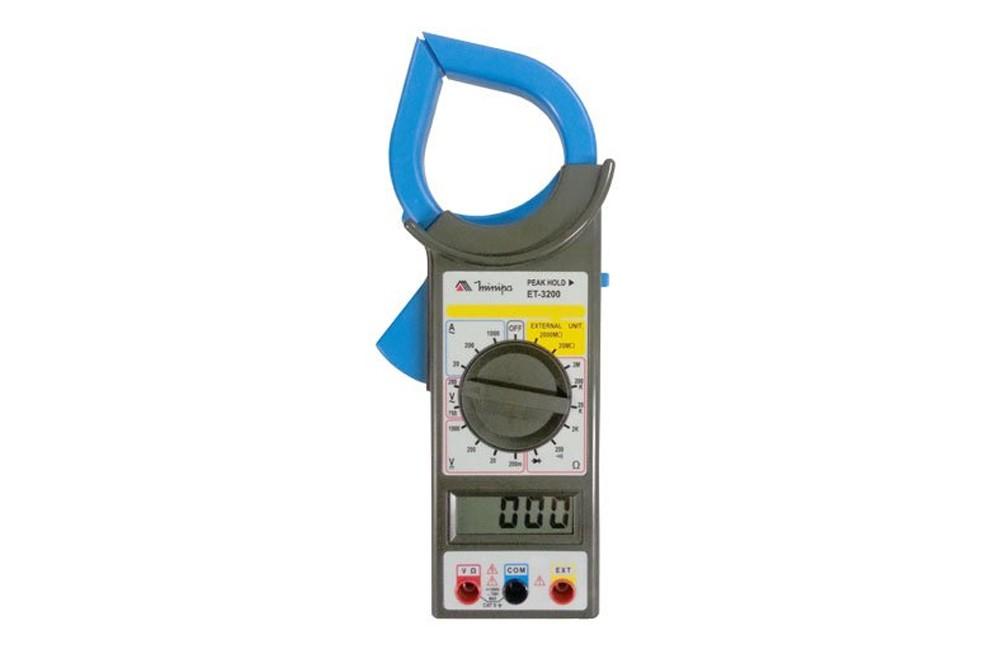 Alicate Amperímetro 1000A/1000V ET-3200 - MINIPA