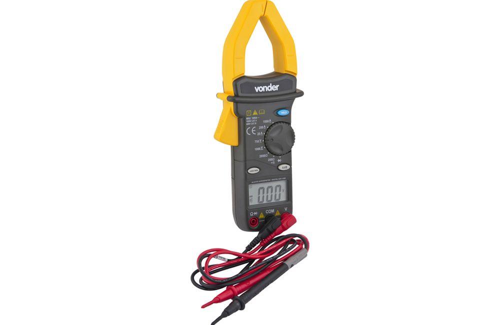 Alicate Amperímetro 1000A/750V AAV-4200