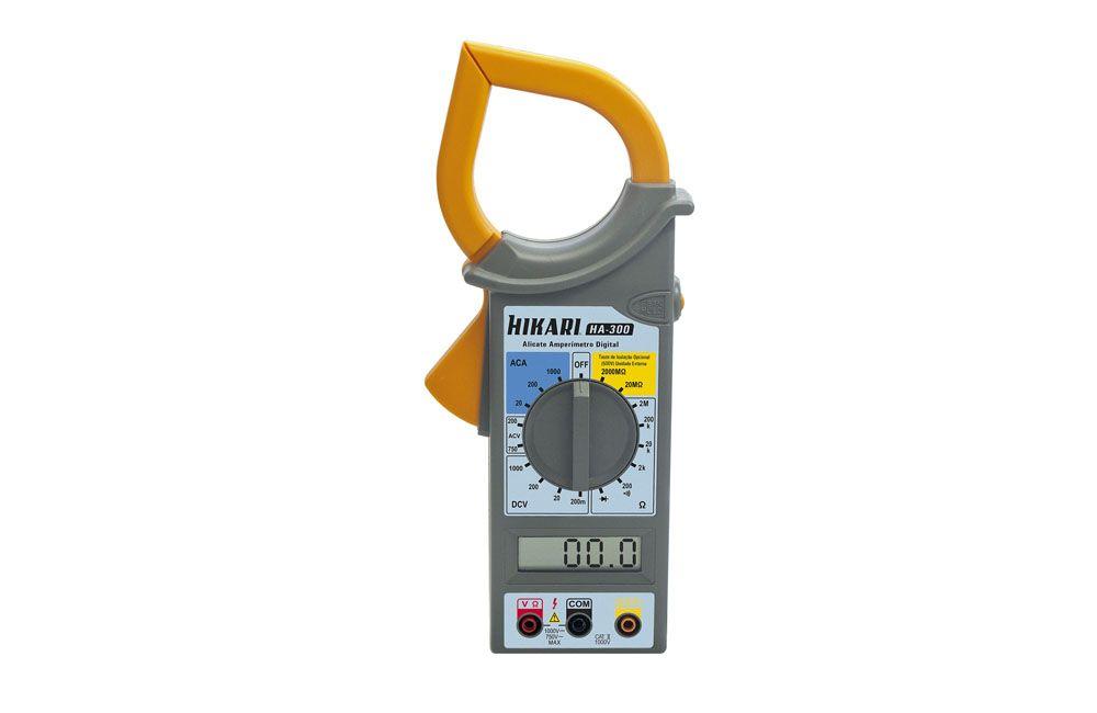 Alicate Amperímetro 1000A/750V Hikari HA-300