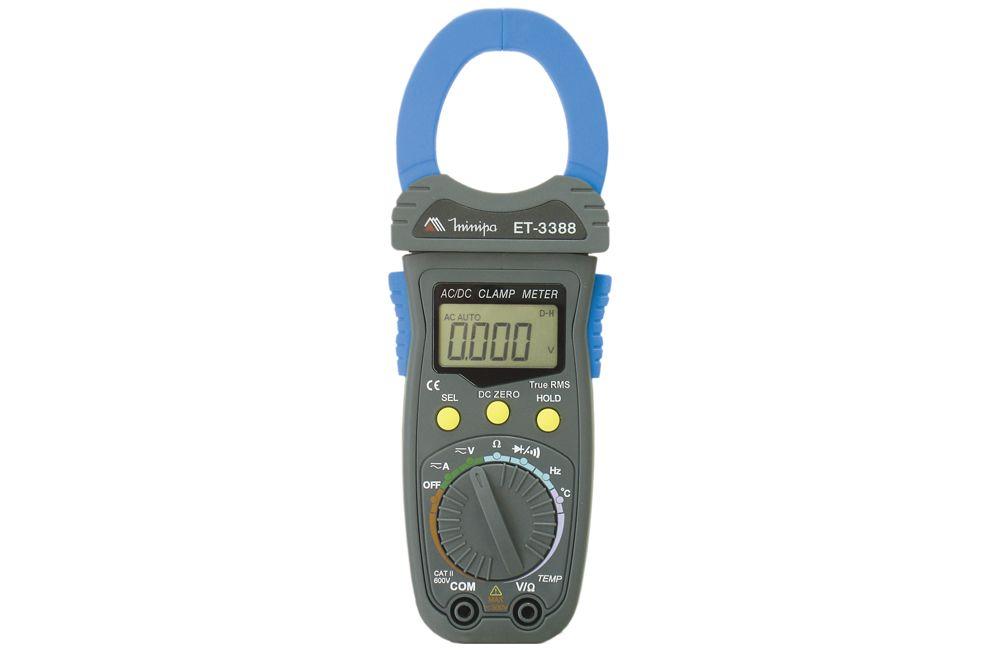 Alicate Amperímetro 1000A AC/DC TRMS ET-3388 - MINIPA
