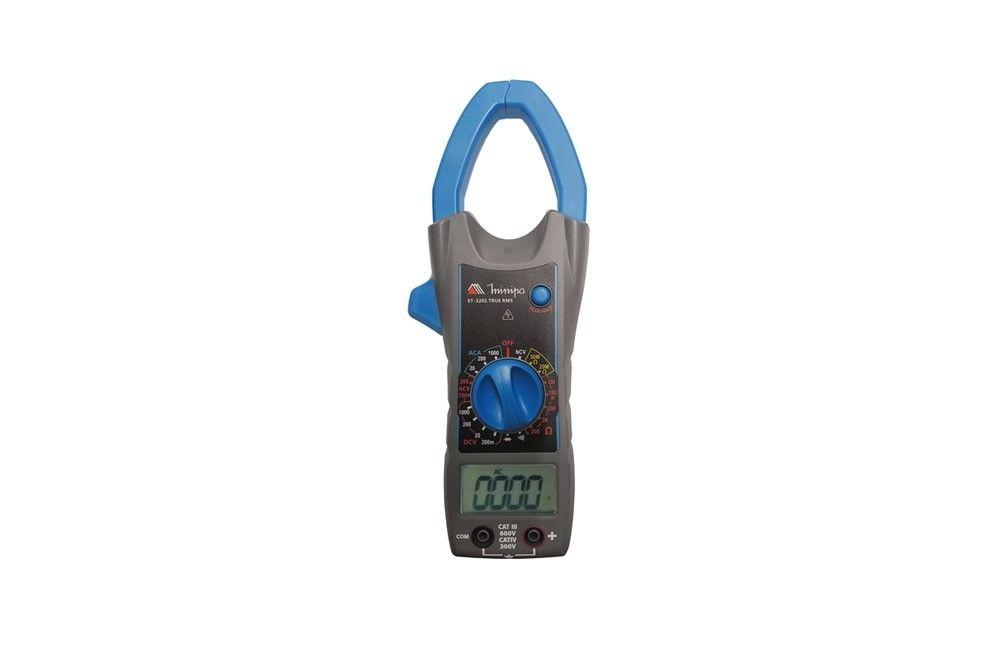 Alicate Amperímetro 1000A AC TRMS CAT-III 600V ET-3201 - Minipa